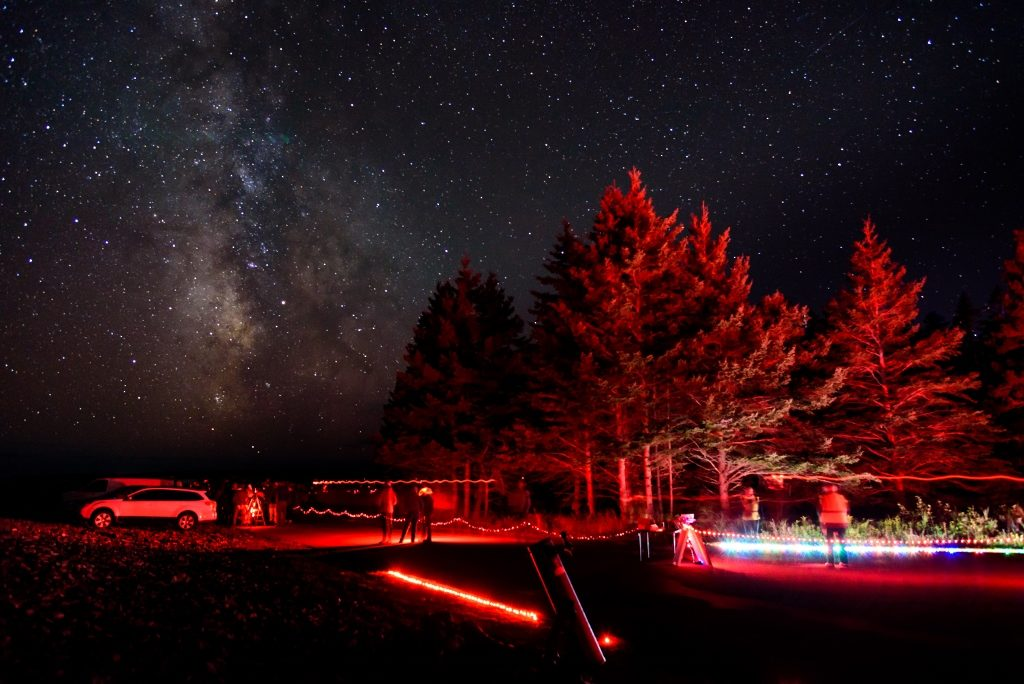 Seawall Star Party in Acadia National Park