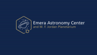 Emera Astronomy Center Logo (Blue)